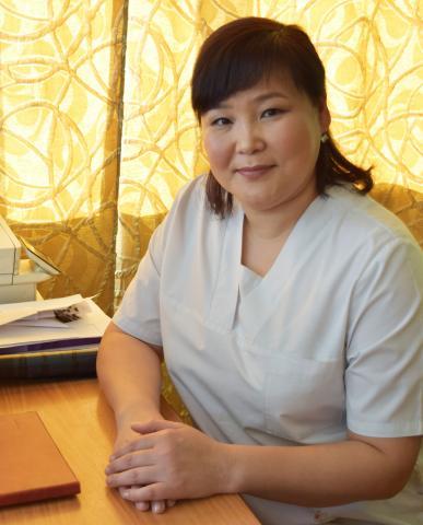 Монгуш Солангы Валерьевна - заведующая хирургическим отделением
